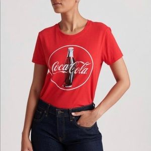 Lucky Brand Coca-Cola T-Shirt Red